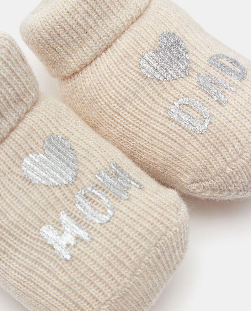 Scarpe in puro cotone con lettering