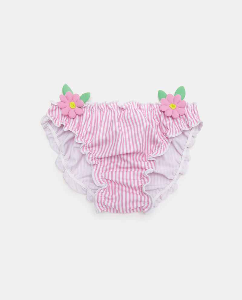 Slip costume con motivo a righe neonata