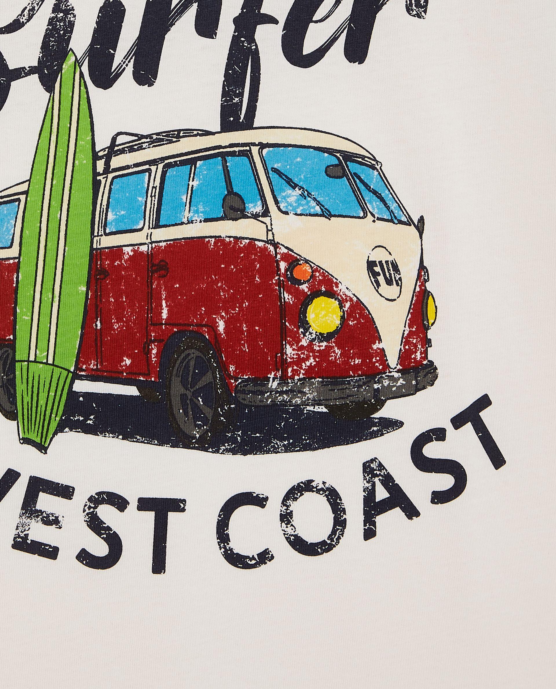 T-shirt stampata in puro cotone ragazzo