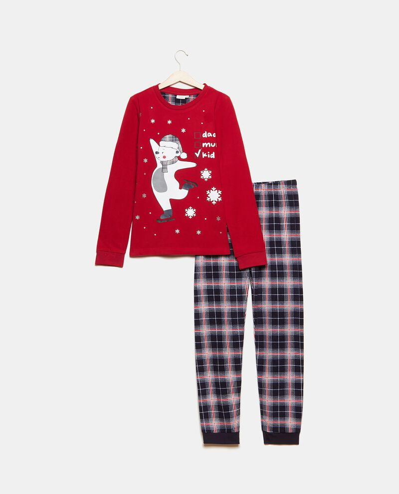 Set pigiama con stampa natalizia