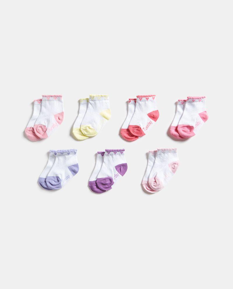 Set con calzini con giorni della settimana
