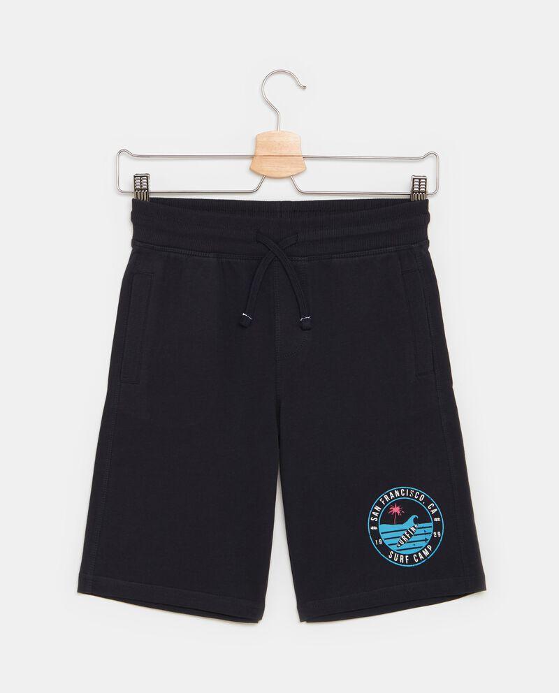 Shorts con tasche in cotone ragazzo