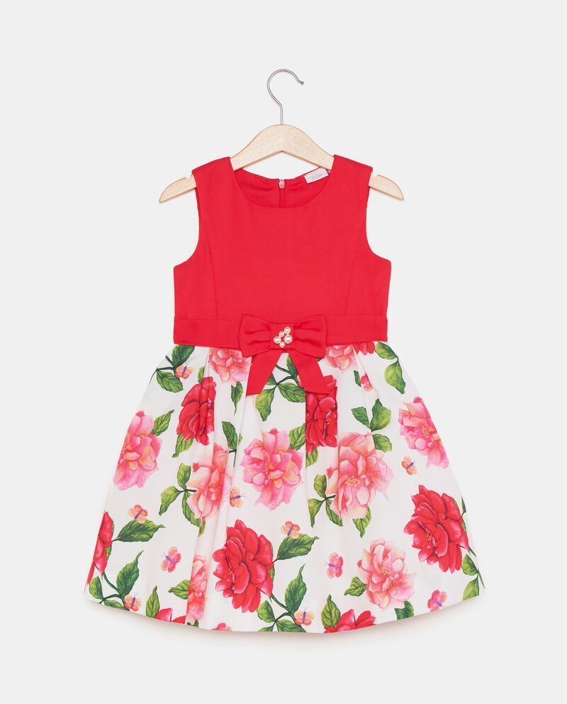 Vestito con fantasia floreale bambina