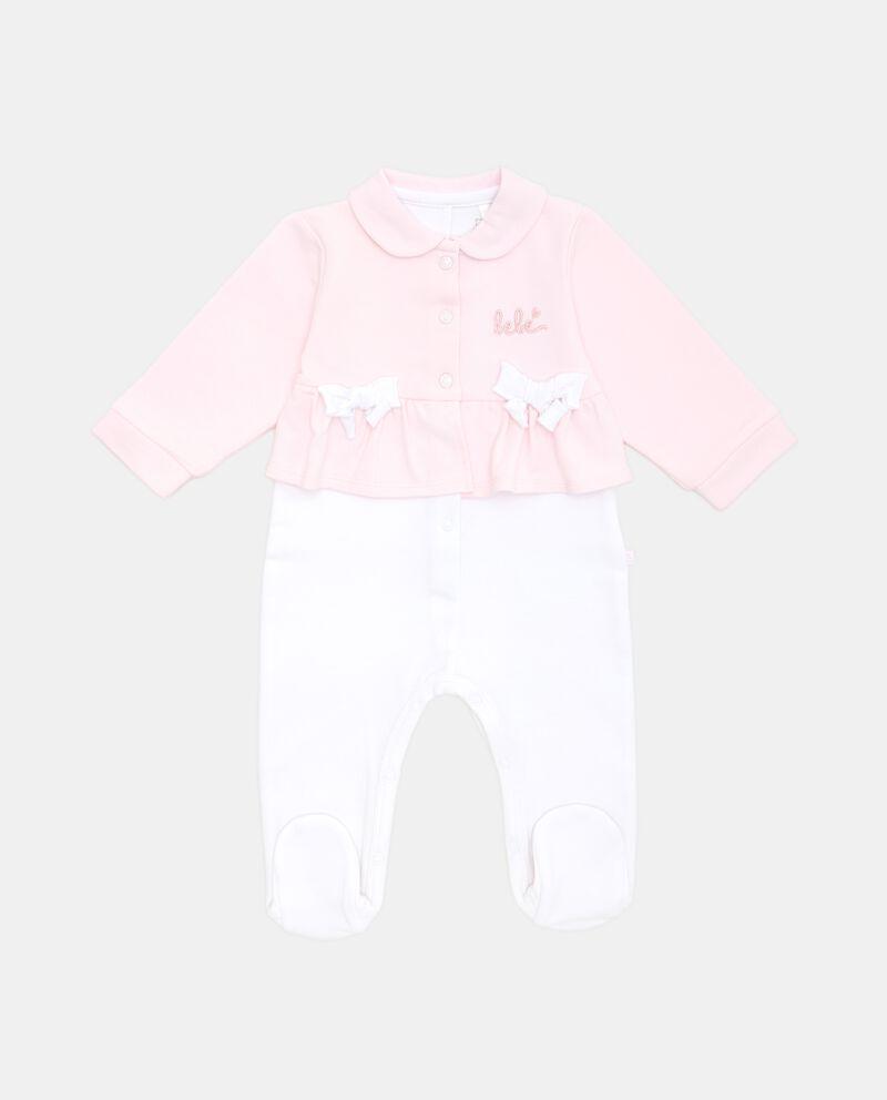 Tutina per neonata con volantdouble bordered 0