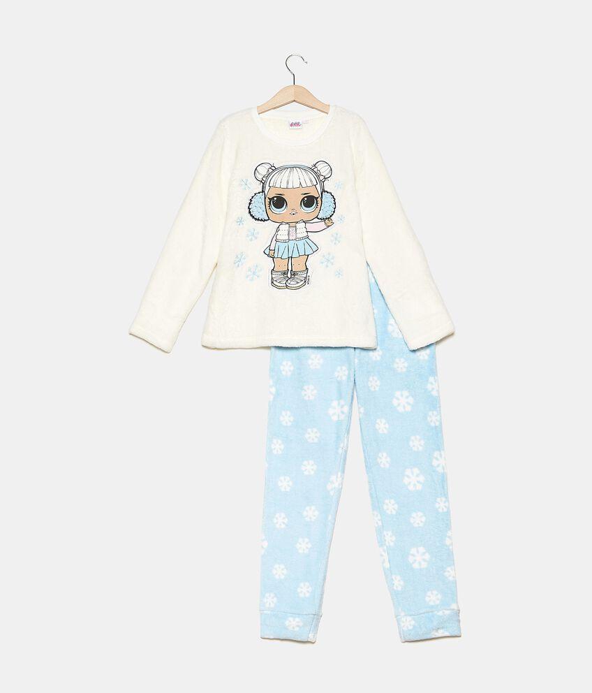 Set pigiama morbido con maglia e pantaloni