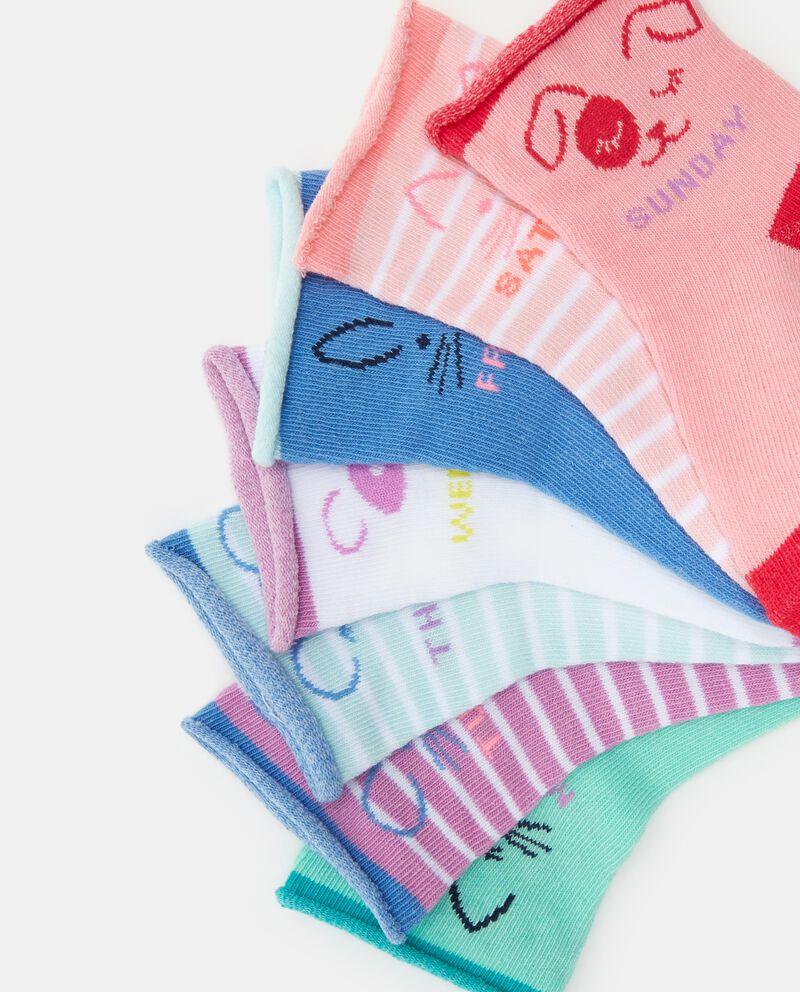 Set calzini giorni della settimana bambina