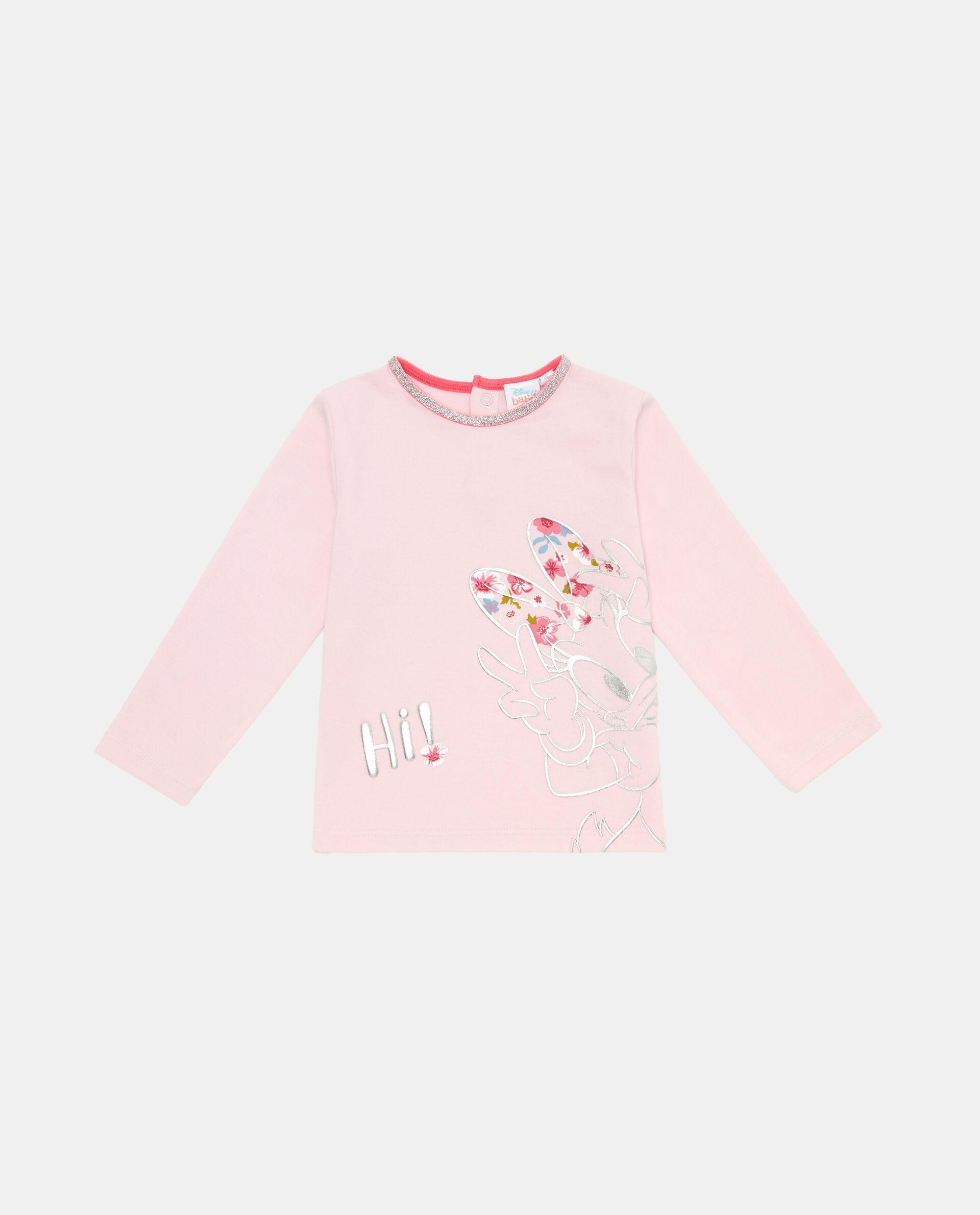 Maglietta neonata a manche lunghe