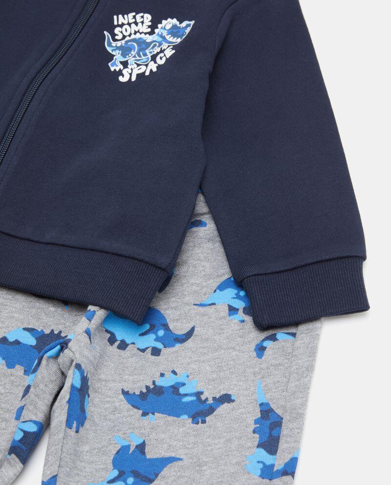 Set jogging con felpa e pantaloni neonato