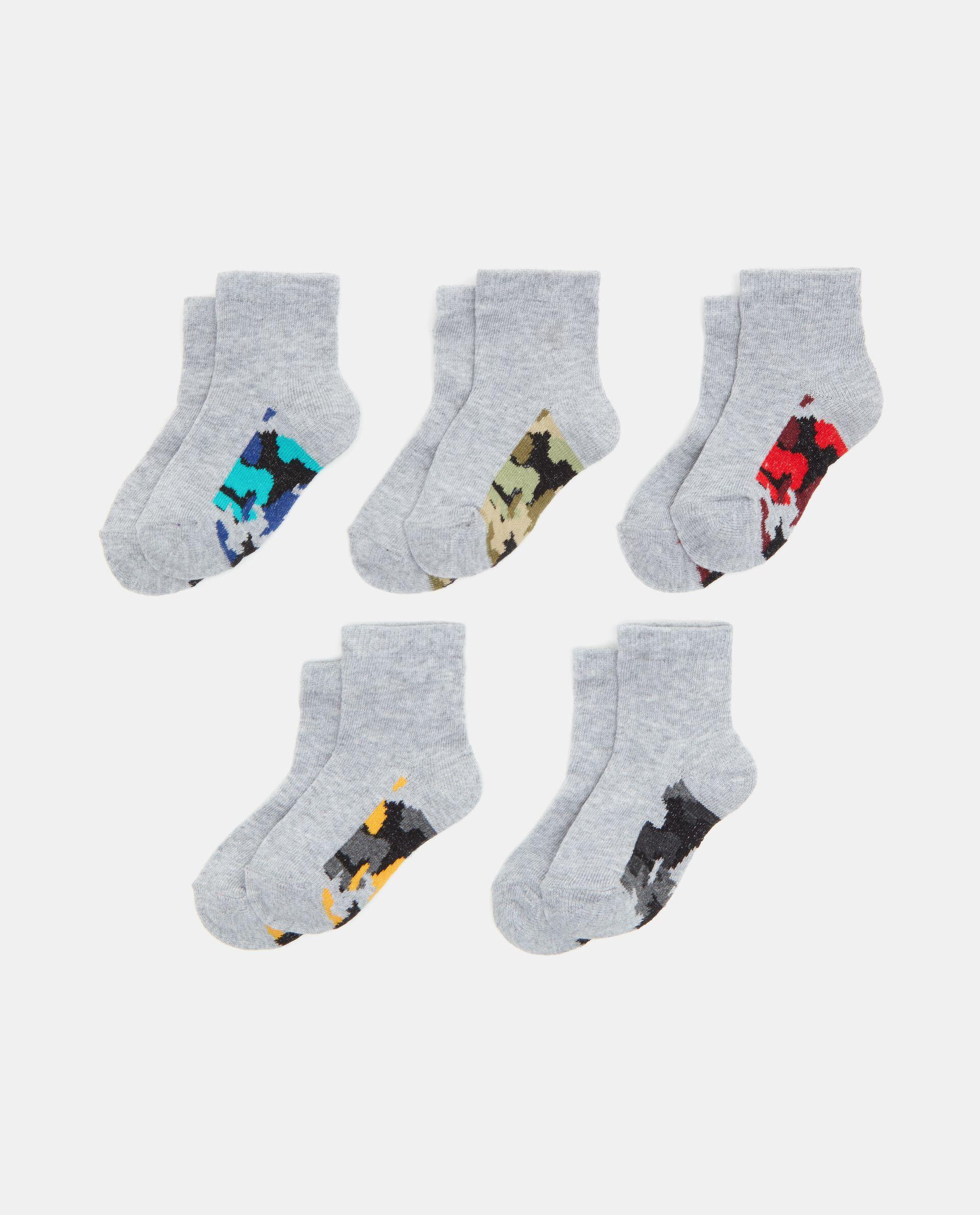 Set calzini con banda militare bambino