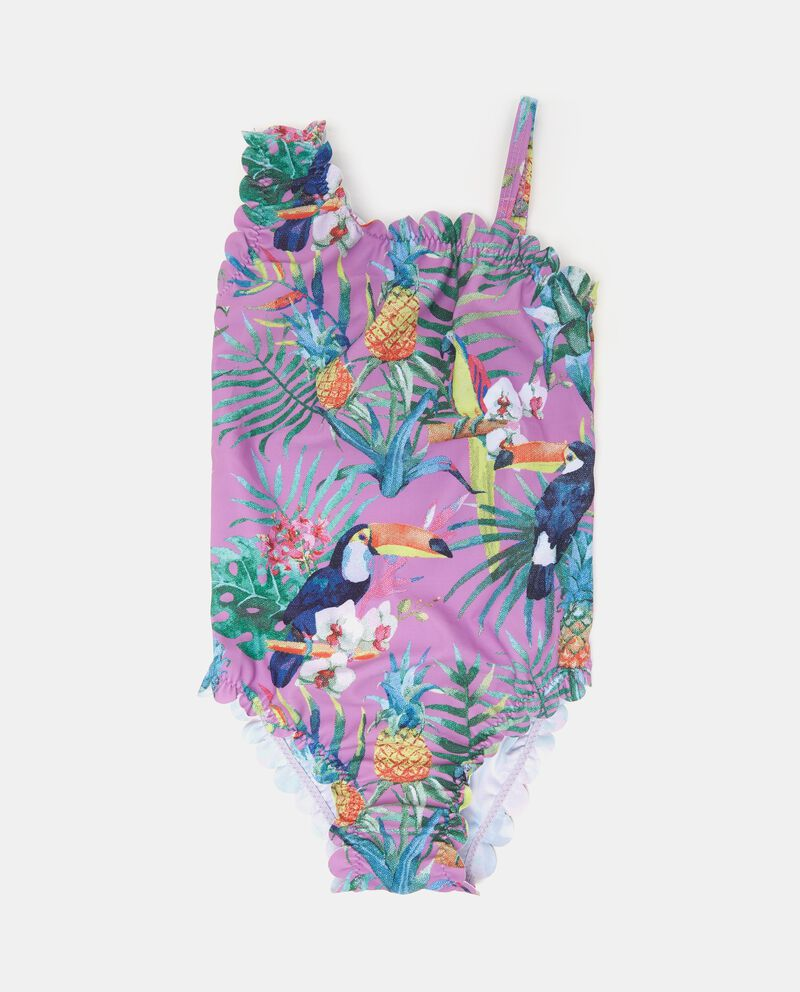 Costume da mare intero tropicale