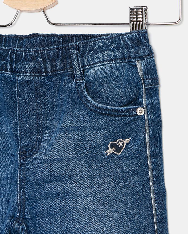 Jeans con fascia elastica bambina single tile 1