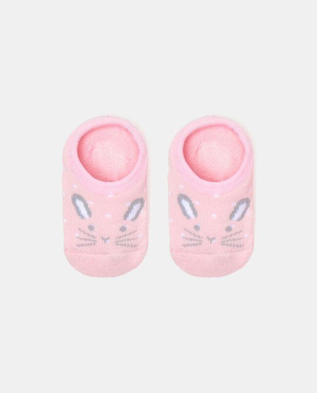 Calzini in cotone elastico antiscivolo neonata