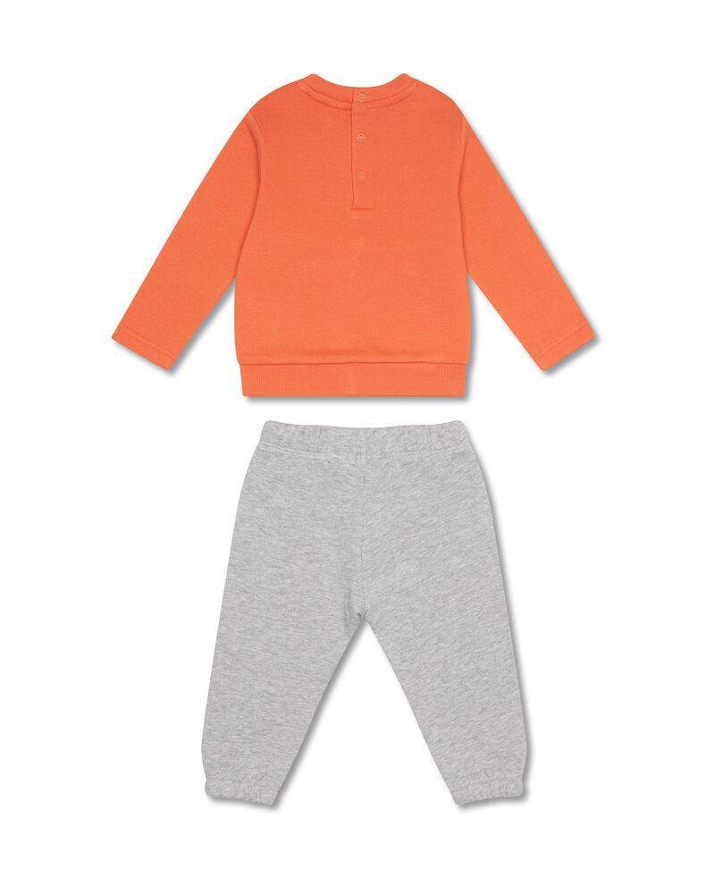 Tuta felpa e pantaloni cotone gru