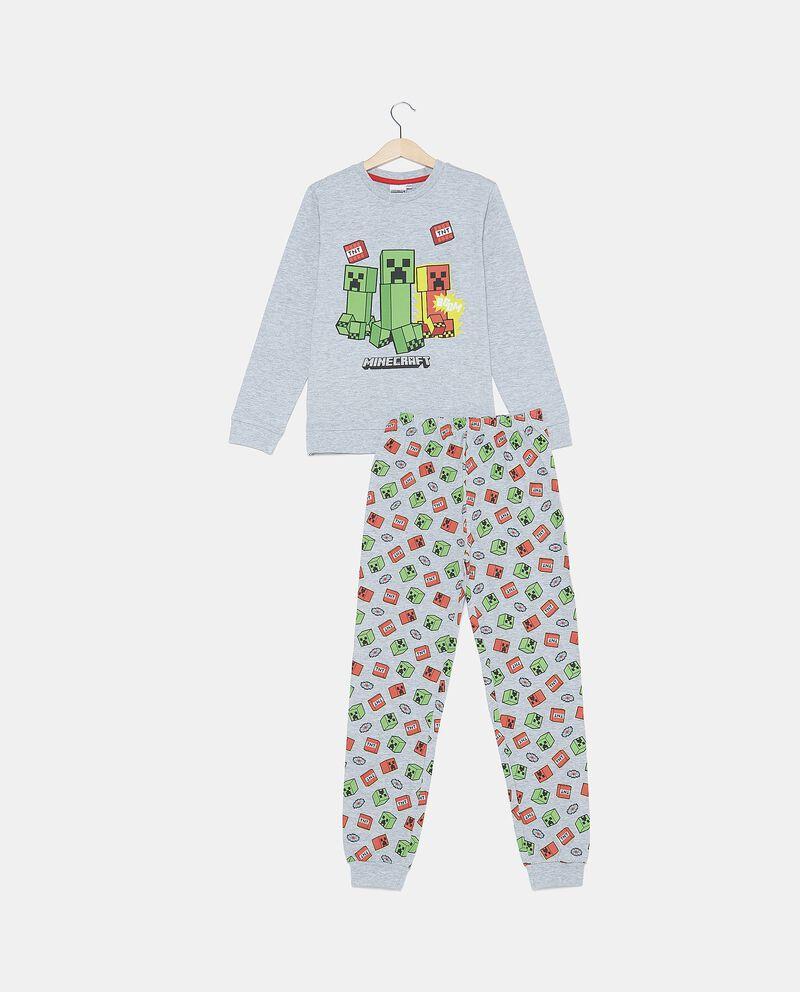 Set pigiama in cotone biologico con maglia e pantaloni bambino