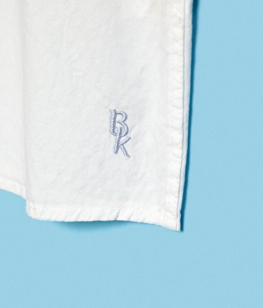 Camicia in puro cotone con maniche lunghe bambino
