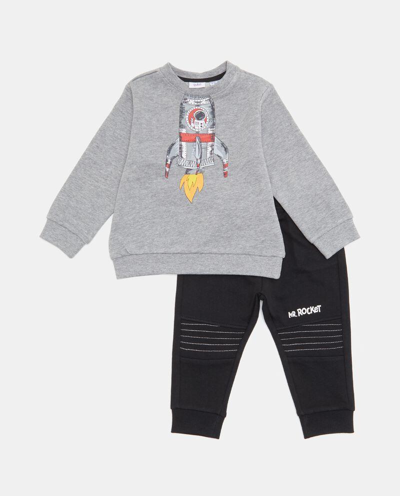 Set con maglia e pantaloni jogging neonato cover