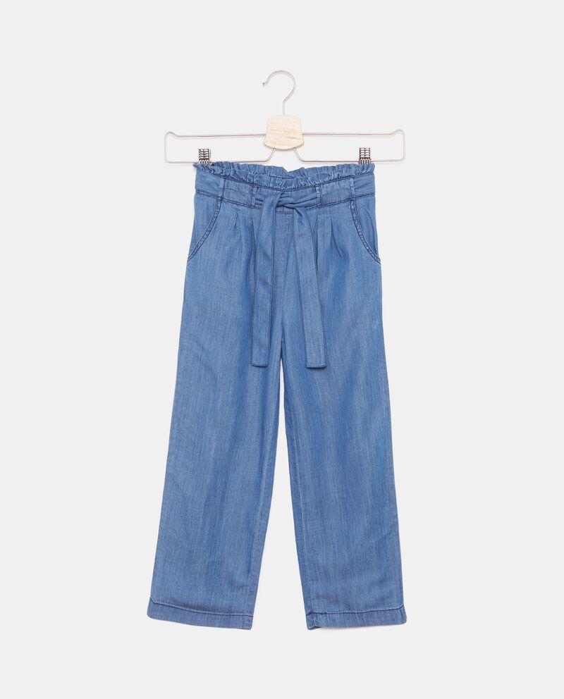 Pantaloni denim bambina cover