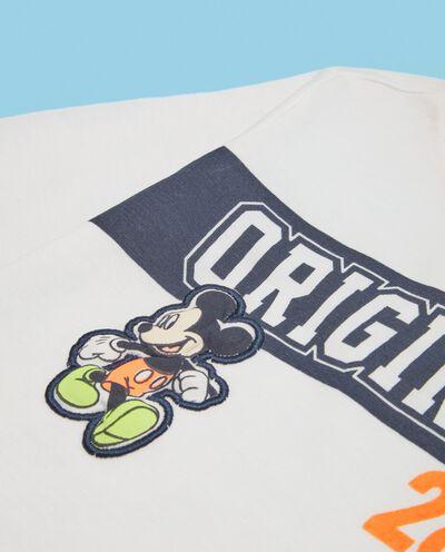 Magliettina neonato in puro cotone Mickey Mouse