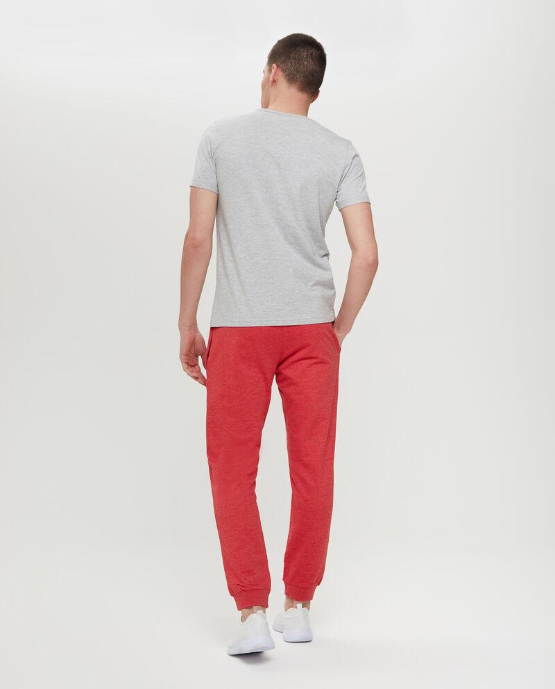 T-shirt cotone e viscosa mélange