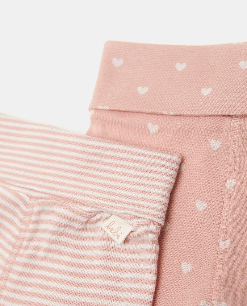 Bipack pantaloni puro cotone