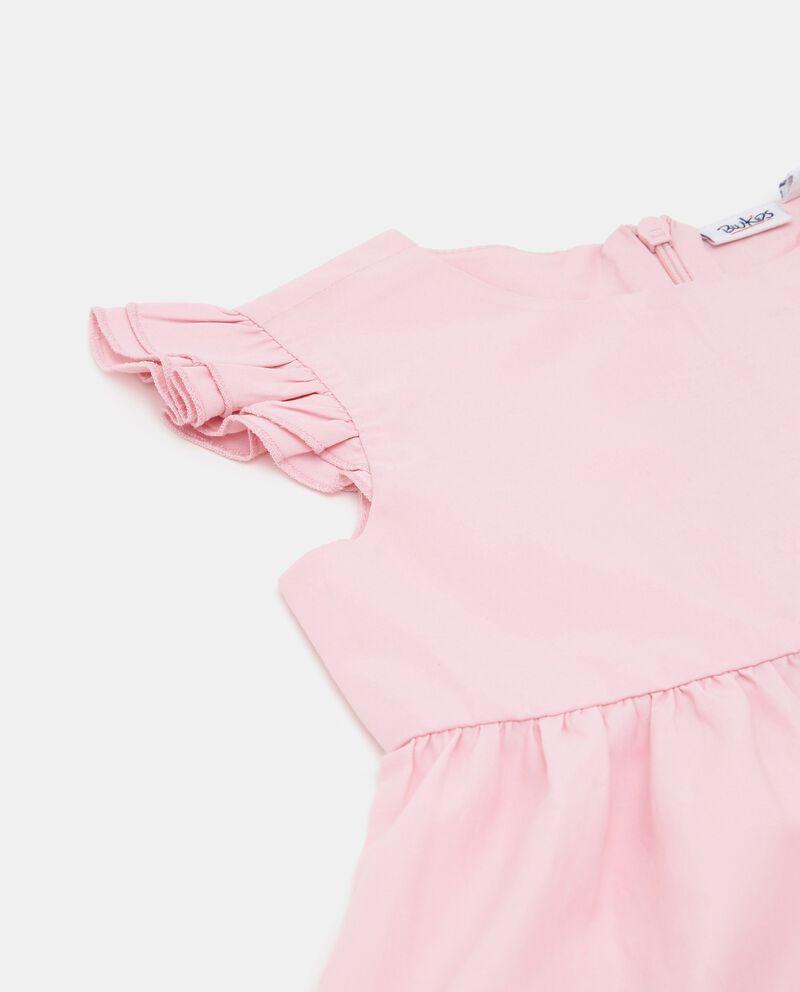 Vestito a balze in popeline neonata single tile 1