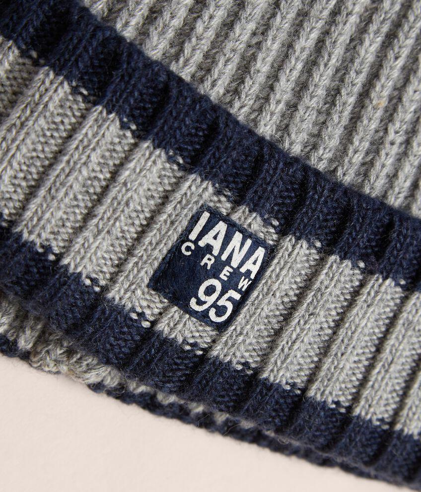 Berretto tricot IANA Made in Italy double 2