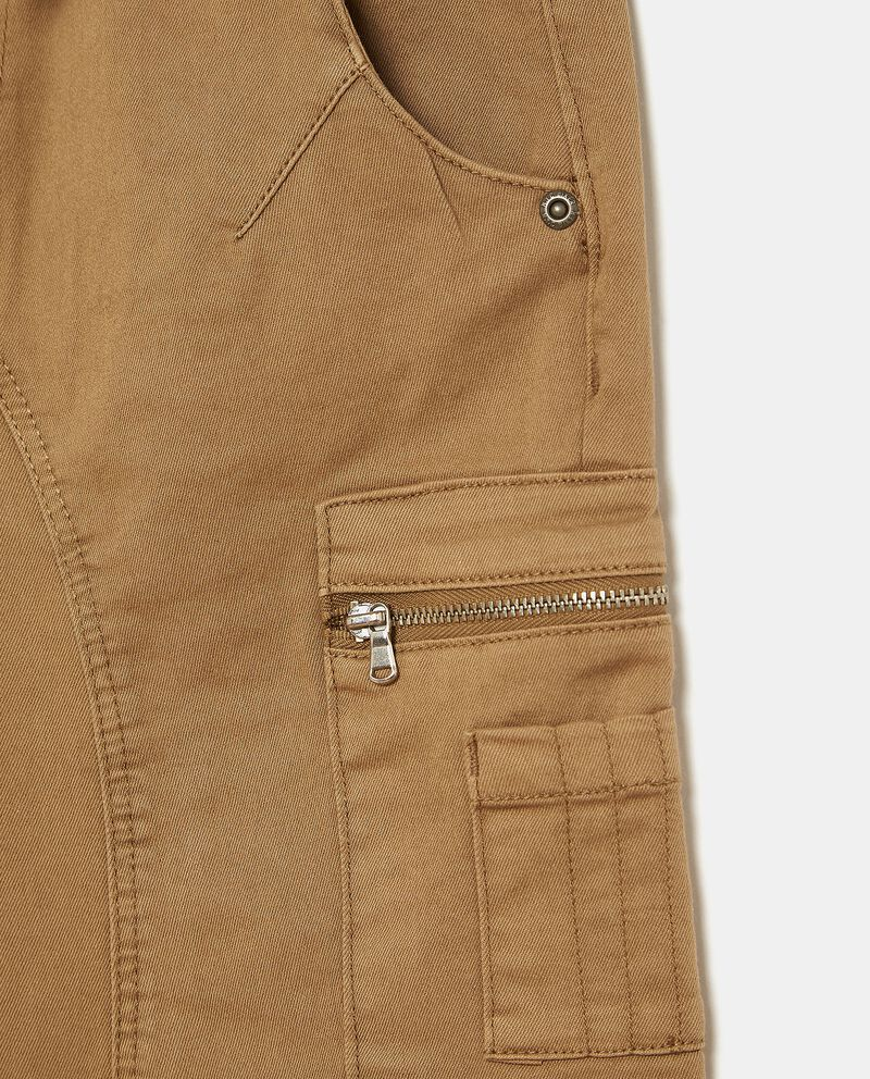 Pantaloni con cordoncino cargo ragazzo