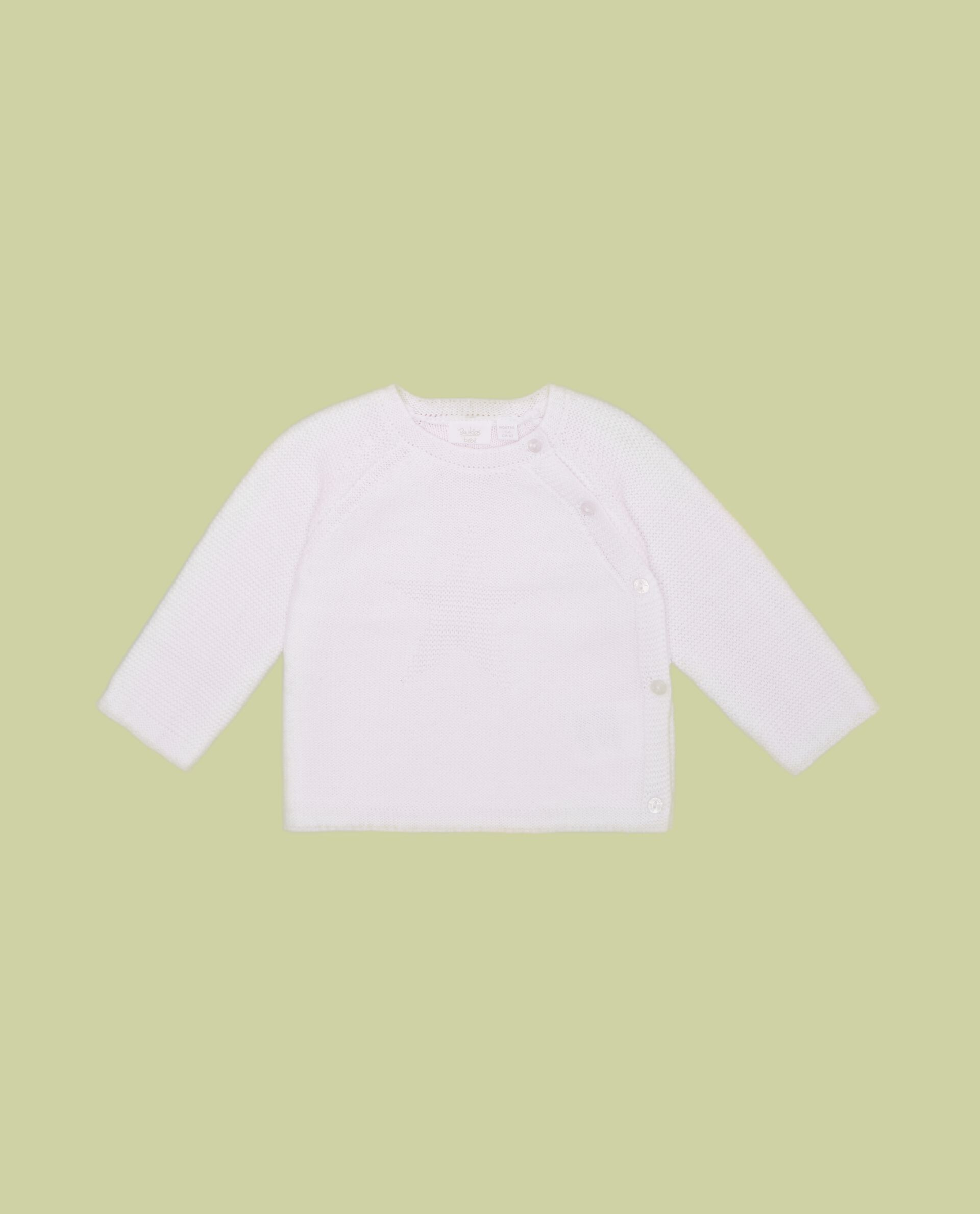 Maglioncino neonato in puro cotone