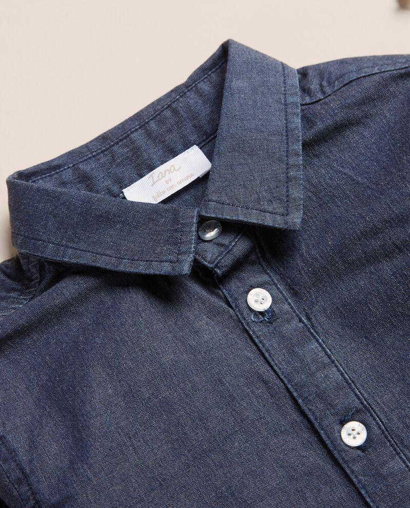 Camicia in chambray di cotone IANAdouble bordered 1