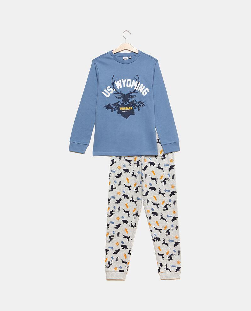 Set pigiama con maglia e pantaloni in fantasiadouble bordered 0