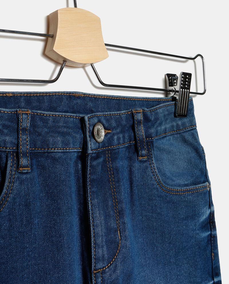 Jeans effetto vintage ragazza single tile 1
