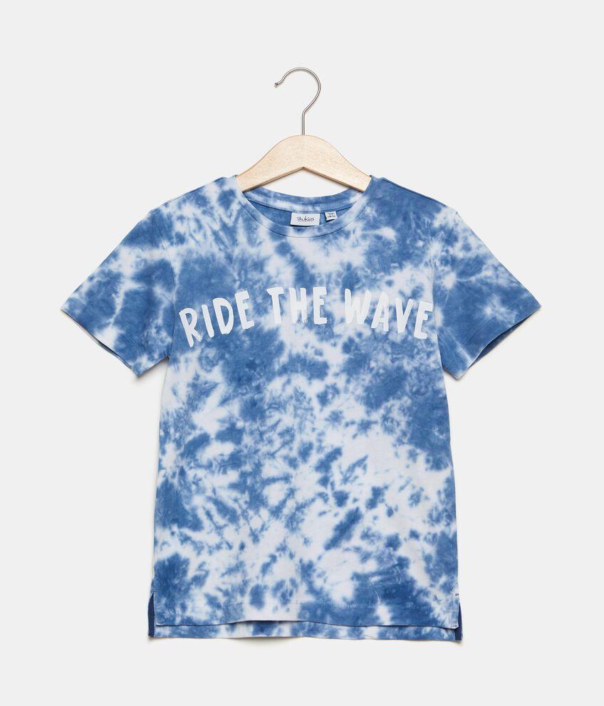 T-shirt tye and dye in puro cotone bambino