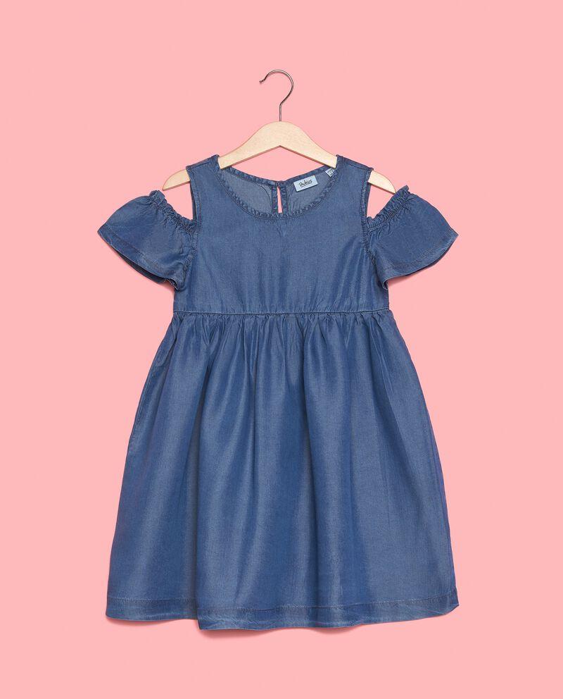 Vestito bambina in puro Lyocell naturale