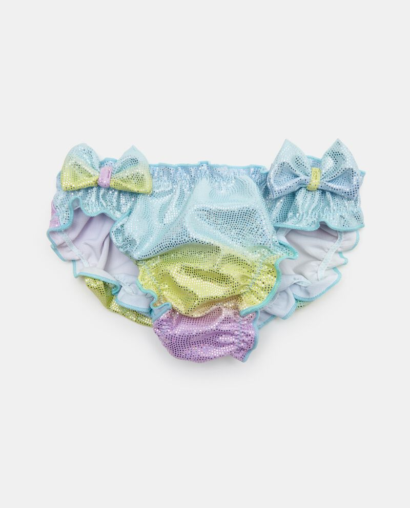 Slip costume con strass neonata