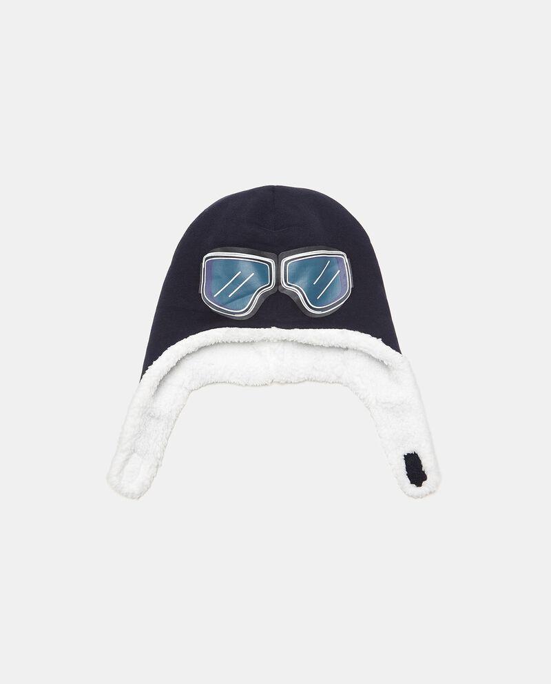 Cappellino con stampa occhiali