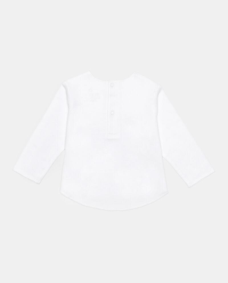 T-shirt maniche lunghe patch stella