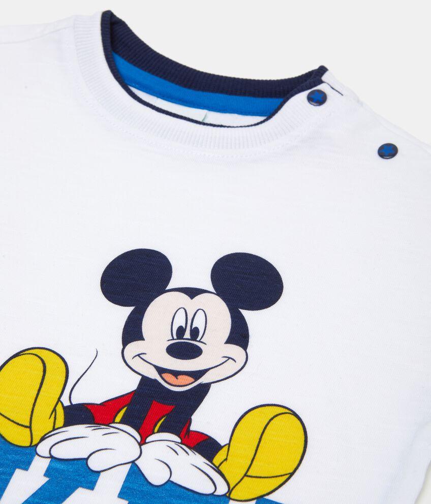 T-shirt in puro cotone Topolino neonato