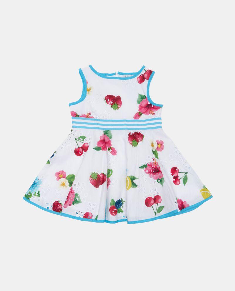 Vestito sangallo di cotone organico neonata