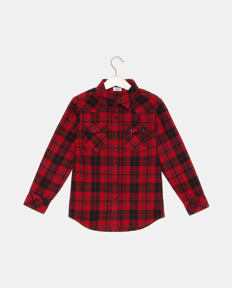 Camicia tartan bambino
