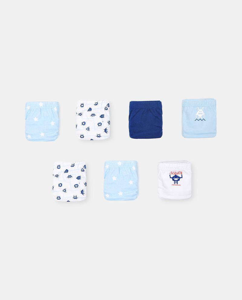 Set di 7 slip in cotone organico bambino cover