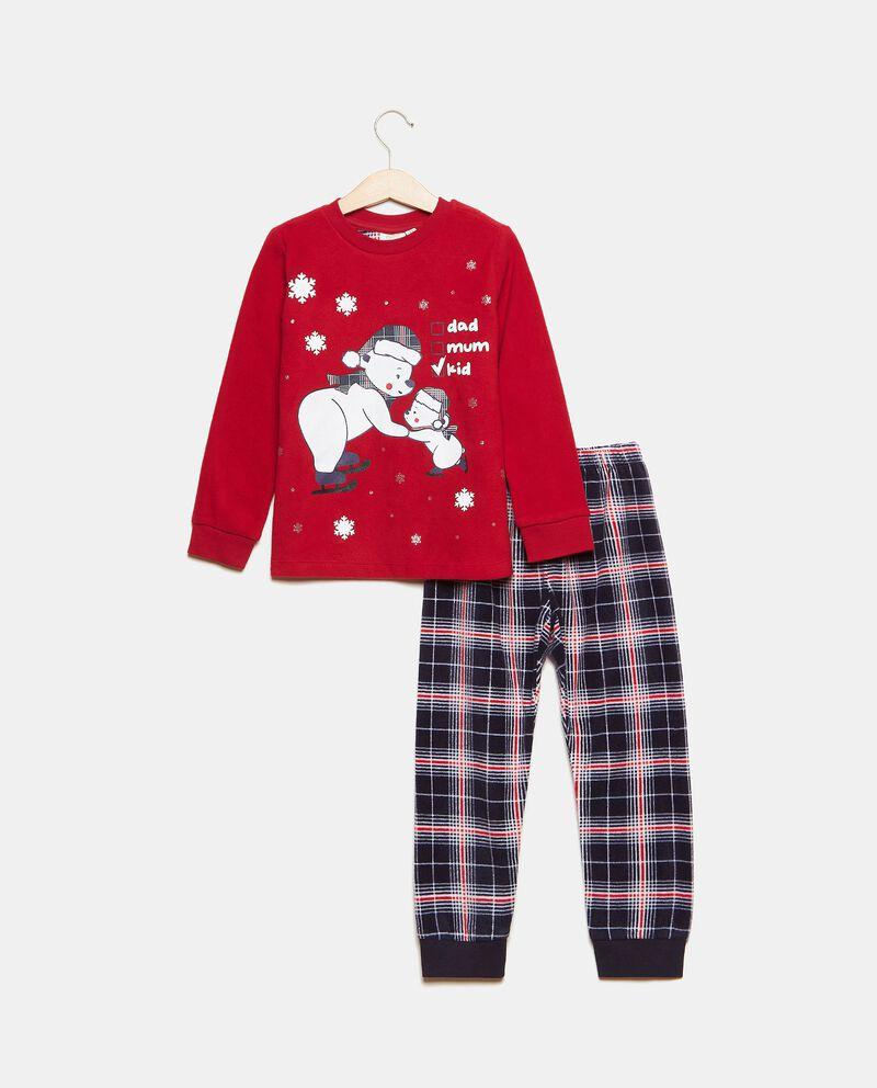 Set pigiama stampa natalizia