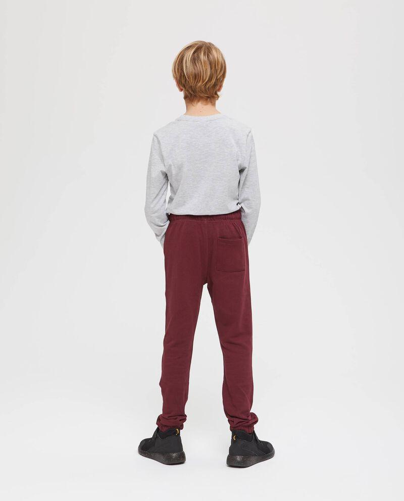 Pantaloni in cotone con coulisse
