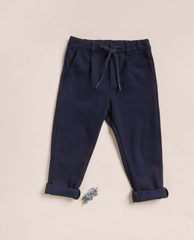 Pantalone punto milano con coulisse IANA carousel 0