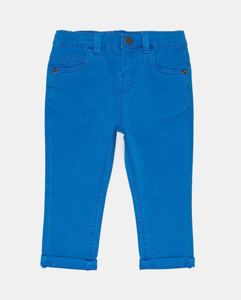 Pantaloni elasticizzati tinta unita