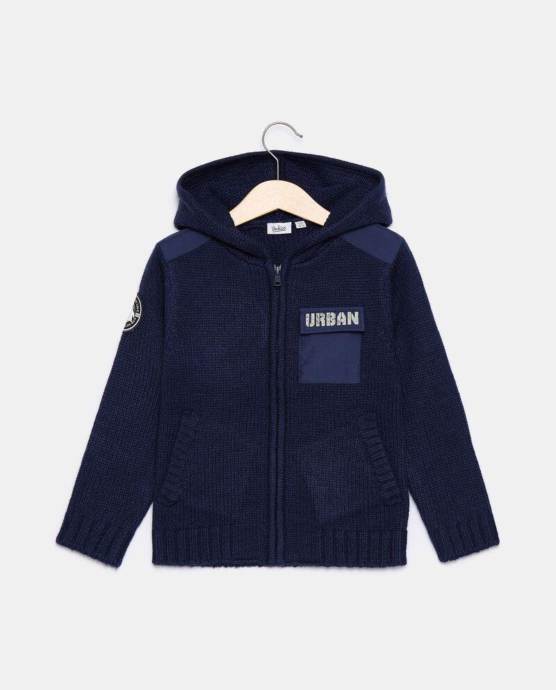 Cardigan in misto lana bambino cover
