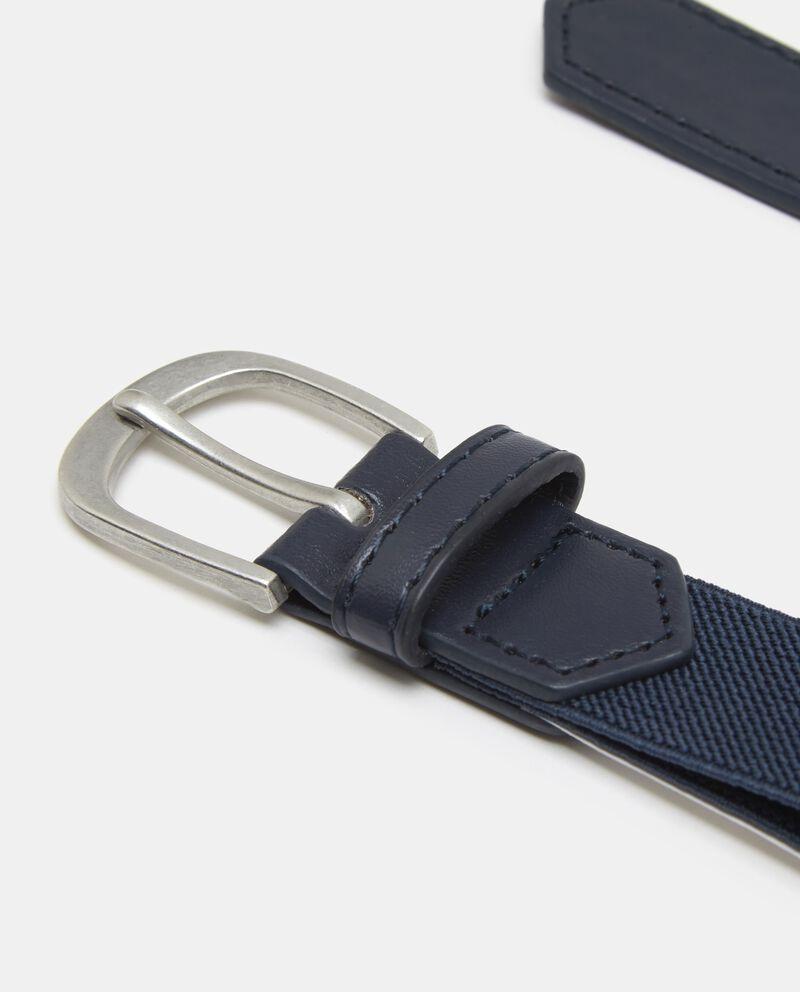 Cintura con inserti in similpelle ragazzo