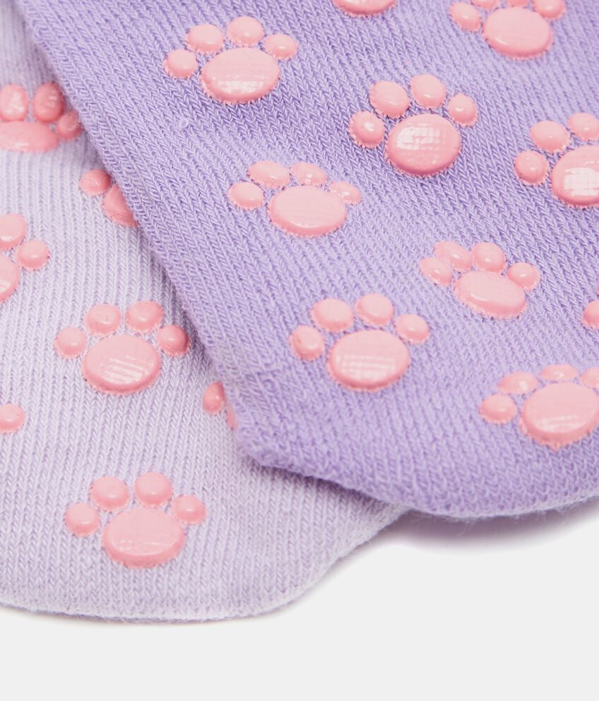 Set calzini con fantasia e disegno bambina