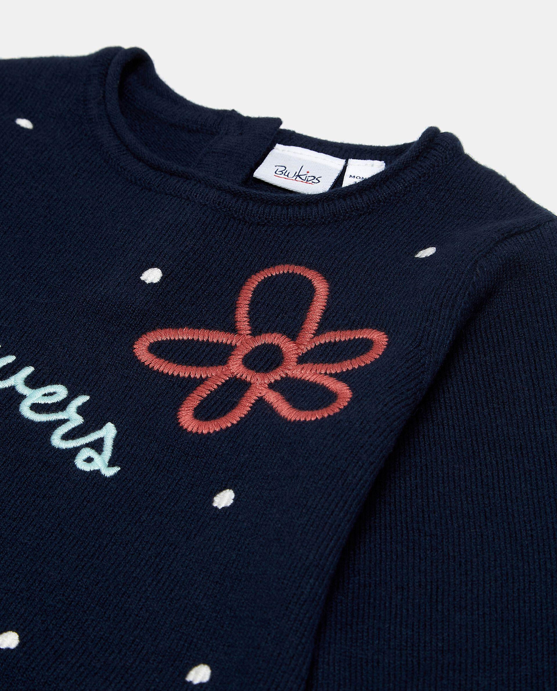 Vestito con fiorellini neonata