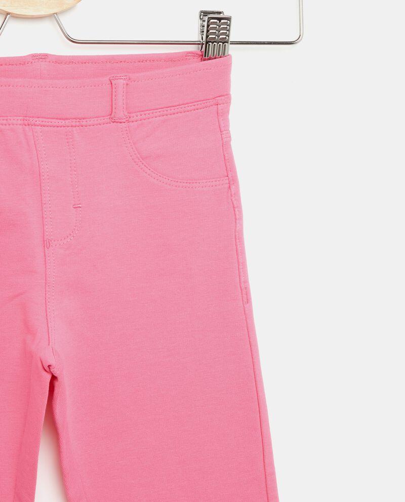 Pantaloni bambina effetto jeans