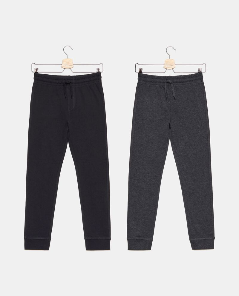 Bipack pantaloni tinta unita ragazzo